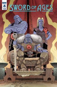 Sword Ages #4, IDW Publishing