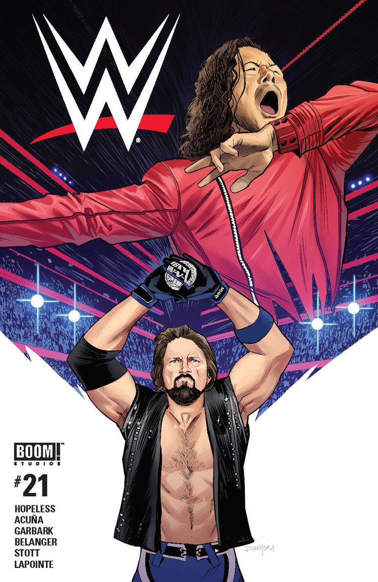 WWE #21, BOOM! Studios
