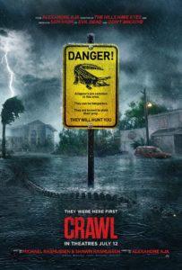 Kaya Scodelario, Crawl Official Trailer, Crawl