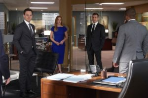 Season 9 Episode 10, Suits