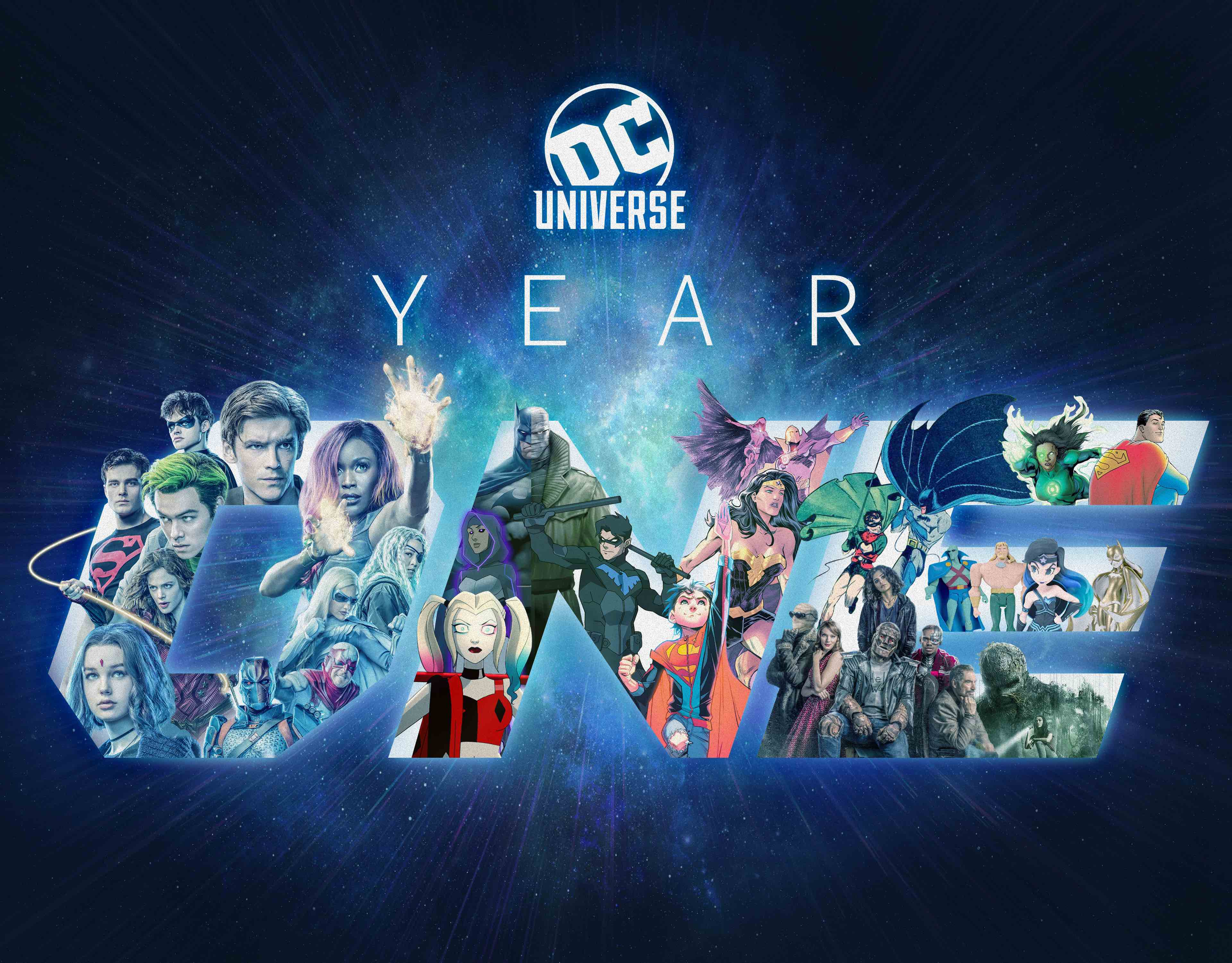 Year One, DC Universe