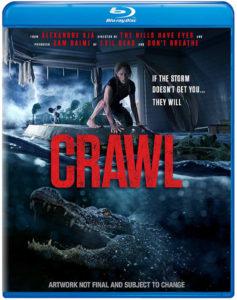 Crawl, Blu-Ray