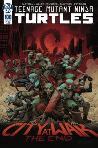 Teenage Mutant Ninja Turtles #100, IDW