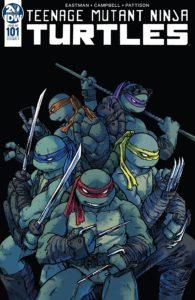 Teenage Mutant Ninja Turtles #101. IDW Publishing