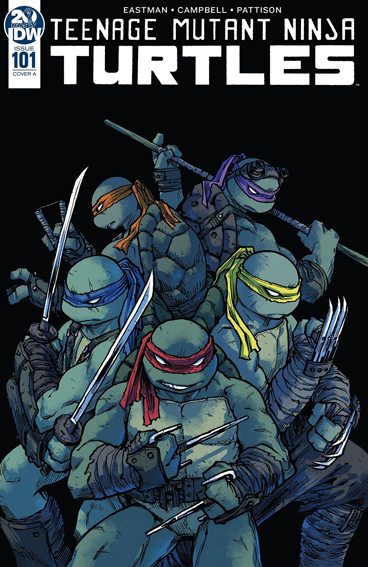 Teenage Mutant Ninja Turtles #101. IDW Publishing
